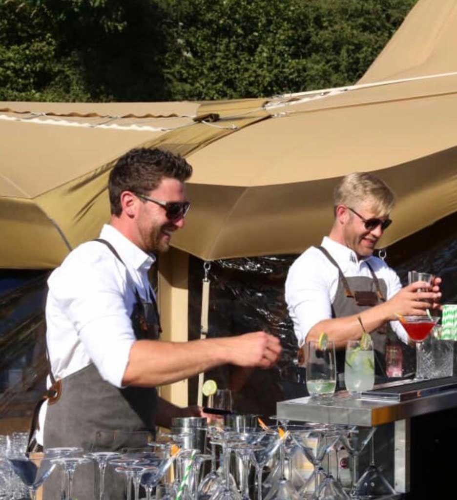 Liquid Spirit Events - Jack and Ollie Working the Bar