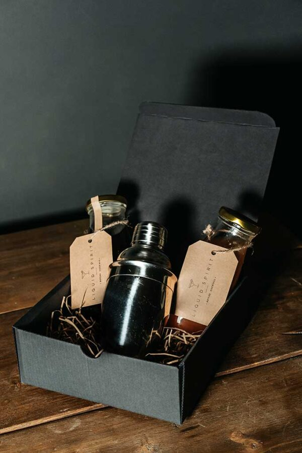 Cocktail Gift Set with Shaker
