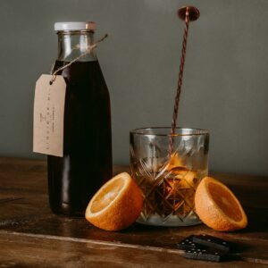Maple & Fig whiskey Old Fashioned